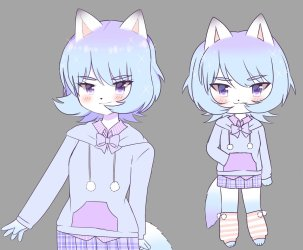 Anime Perfect: Images Of Images Of Anime Artic Fox Girl