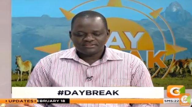 Jared Okello Jubilee people tend political survival Raila Odinga company  aisle lose lot clout benefits Raila joins serve country president DayBreak  | Citizen TV Kenya | Scoopnest