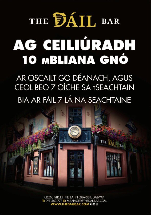 a chairde tufted wingback dining chair an taibhdhearc on twitter breithla sona daoibh in dailbar1