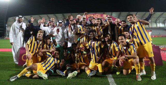 مجيد بوقرة يخسر نهائي كأس قطر امام نادي الغرافة 25