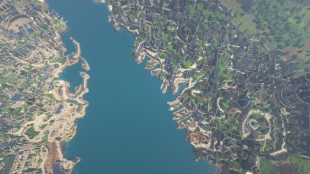 ArdaCraft on Twitter: Mithlond sometimes called the Grey Havens was an Elvish city and port on the Gulf of Lune in the Elven realm of Lindon in Middle earth Screen by @hobbitMeE #LOTR #