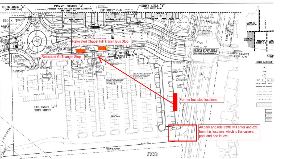 hight resolution of  chtransit bus stop at eubanks park and ride lot will be relocated next to the newly constructed site next to the round a bout and carraway village