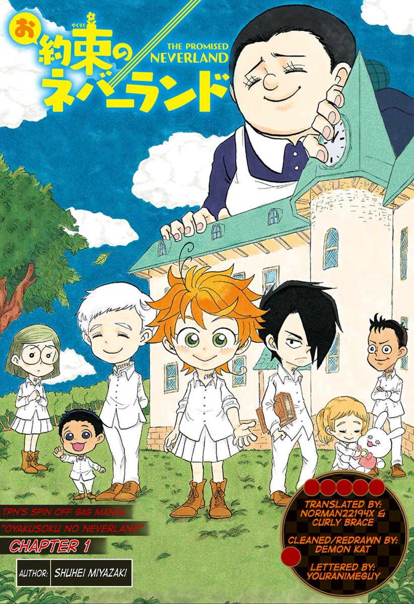 The Promised Neverland Chapitre 1 : promised, neverland, chapitre, Promised, Neverland, Twitter:,