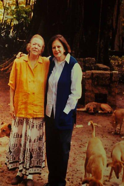 Hilda Hilst e Lygia Fagundes Telles
