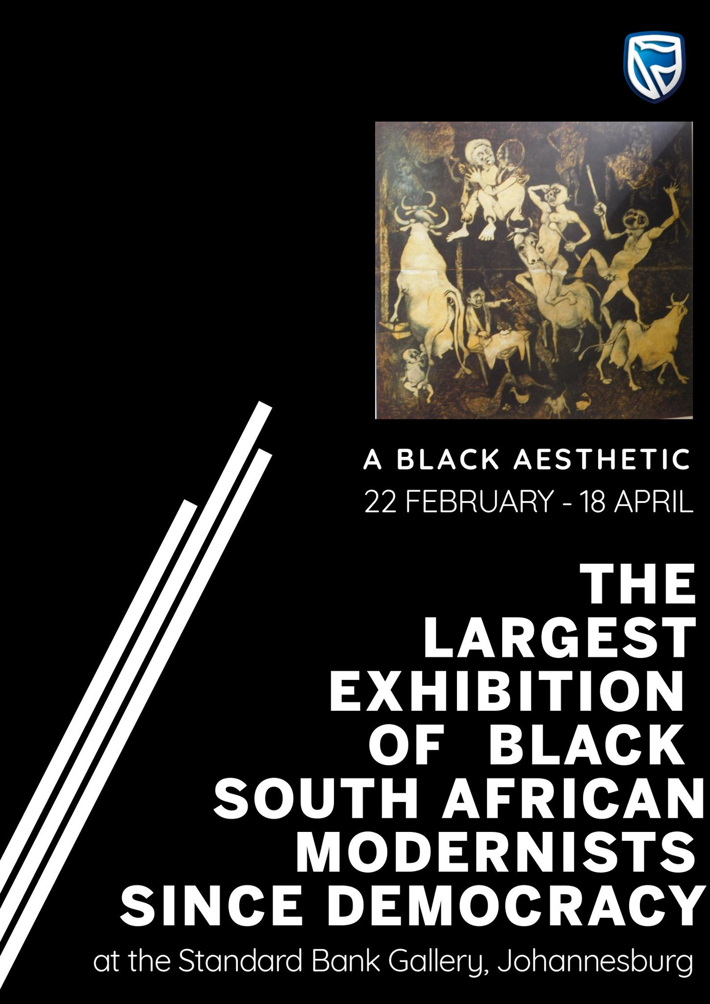 Standard Bank Arts On Twitter Gallery This For Blackhistorymonth We Will Open A Black Aesthetic The Largest Exhibition Of Black South African Modernist Artists Since Democracy Rt This To Support