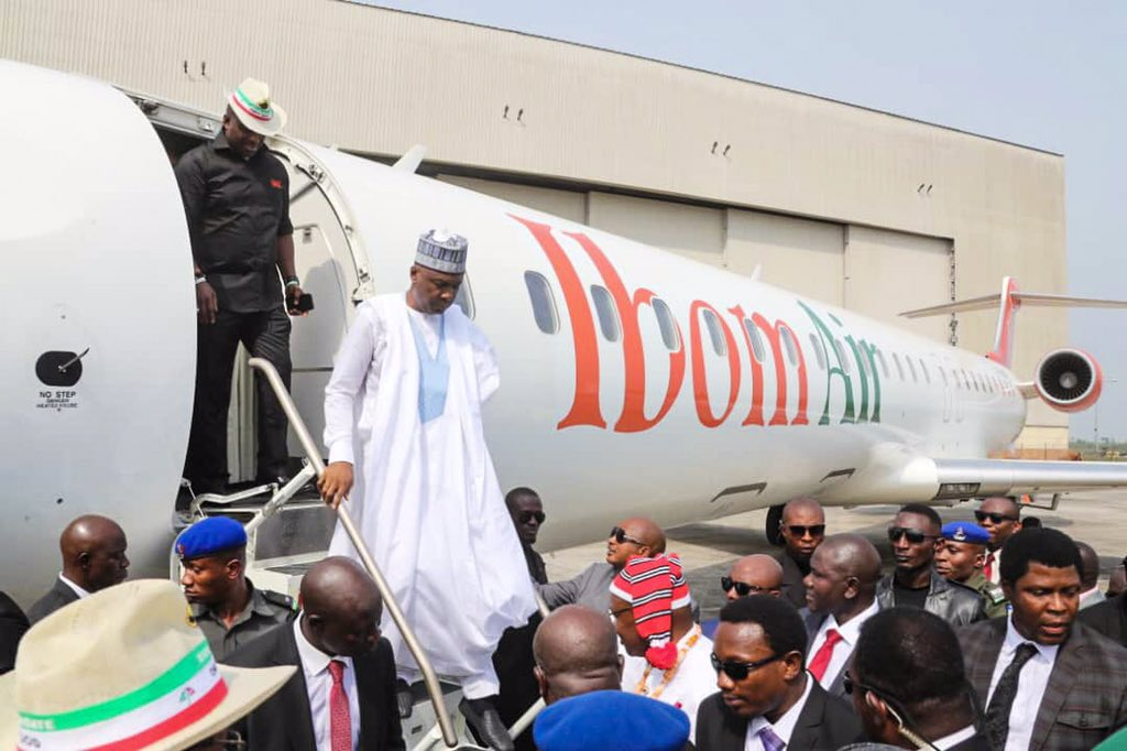 "Dz3Bxi4WwAAPDcz - What Senate President, Bukola Saraki, Said After Commissioning ""Ibom Air"" Is A Must Read"