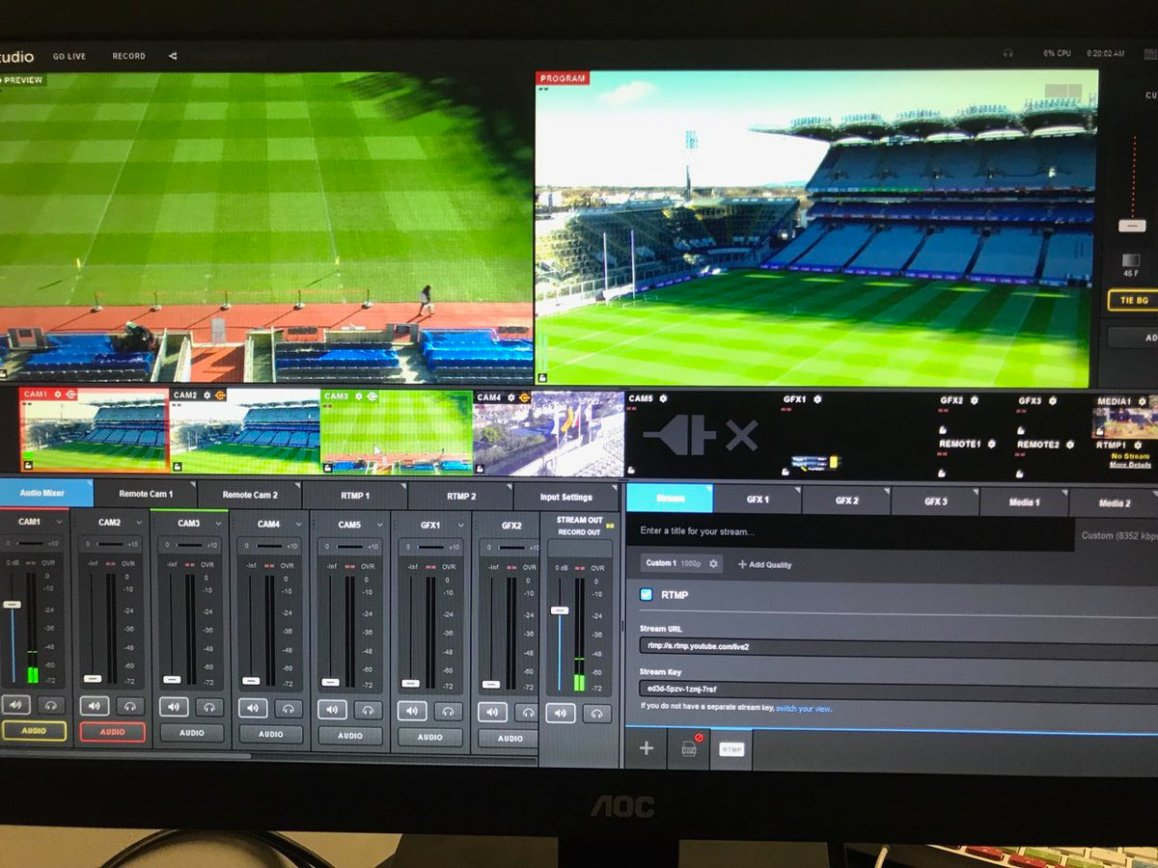 test Twitter Media - We're all set for @AIB_GAA Junior & Intermediate Hurling All-Ireland Club Championship games @CrokePark today. Live online @SportTG4 ! https://t.co/XtHhHi0y9N