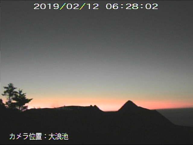 test ツイッターメディア - 今朝の新燃岳。 https://t.co/CHyPSkjMOn