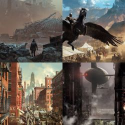 🕹S7 Gaming™🕹 on Twitter: Peter Popken is a concept artist visual development and storyboard artist for the film industry All images are the©️copyright of their respective owners #concept #conceptart #art # fantasy #fantasyart #