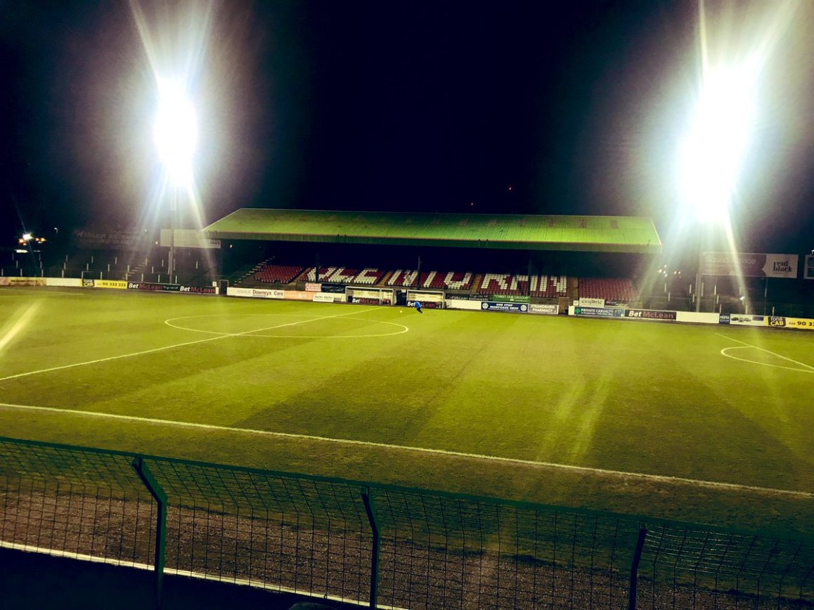 test Twitter Media - Great view from the side of the tender at today's @Glentoran v @Glenavon_FC clash live on @SkySports from 19.40 https://t.co/eUJGKfP1Jw