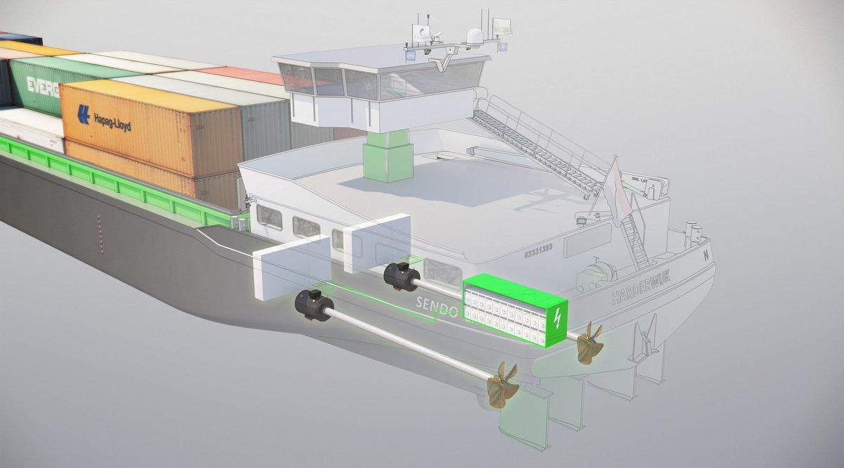 hight resolution of damen shipyards on twitter concordia damen celebrates naming of innovative dry cargo vessel sendo liner https t co lmaoidlgcc