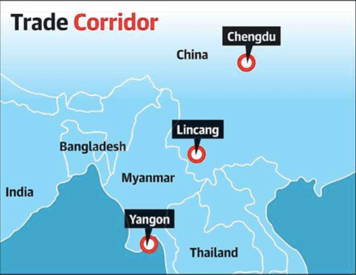 """Ananth Krishnan on Twitter: """"China opens first road-rail transport link to the Indian Ocean via Myanmar https://t.co/DpSGmWEALy… """""""