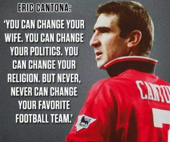 Unique eric cantona posters designed and sold by artists. Eric Cantona S Birthday Celebration Happybday To