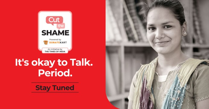 """The Times Of India on Twitter: """"This World Menstrual Hygiene Day, The Times  of India and @donatekart join forces on #CutTheShame, a campaign that aims  to shine the spotlight on menstrual hygiene"""