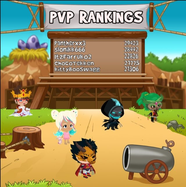 """Battle Camp a Twitter: """"Congratulations to this weeks PvP top 23"""