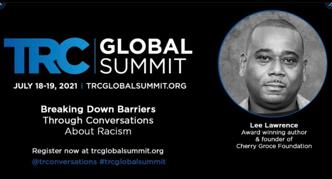 """We're excited to have the award winning #author of """"The Louder I sing"""" join the #trcglobalsummit #trconversations #socialjustice #fightracism #blacklivesmatters #onlineevent Register and join the #conversation at https://t.co/PGIy8kZiRR https://t.co/RcqGrOdd3k"""
