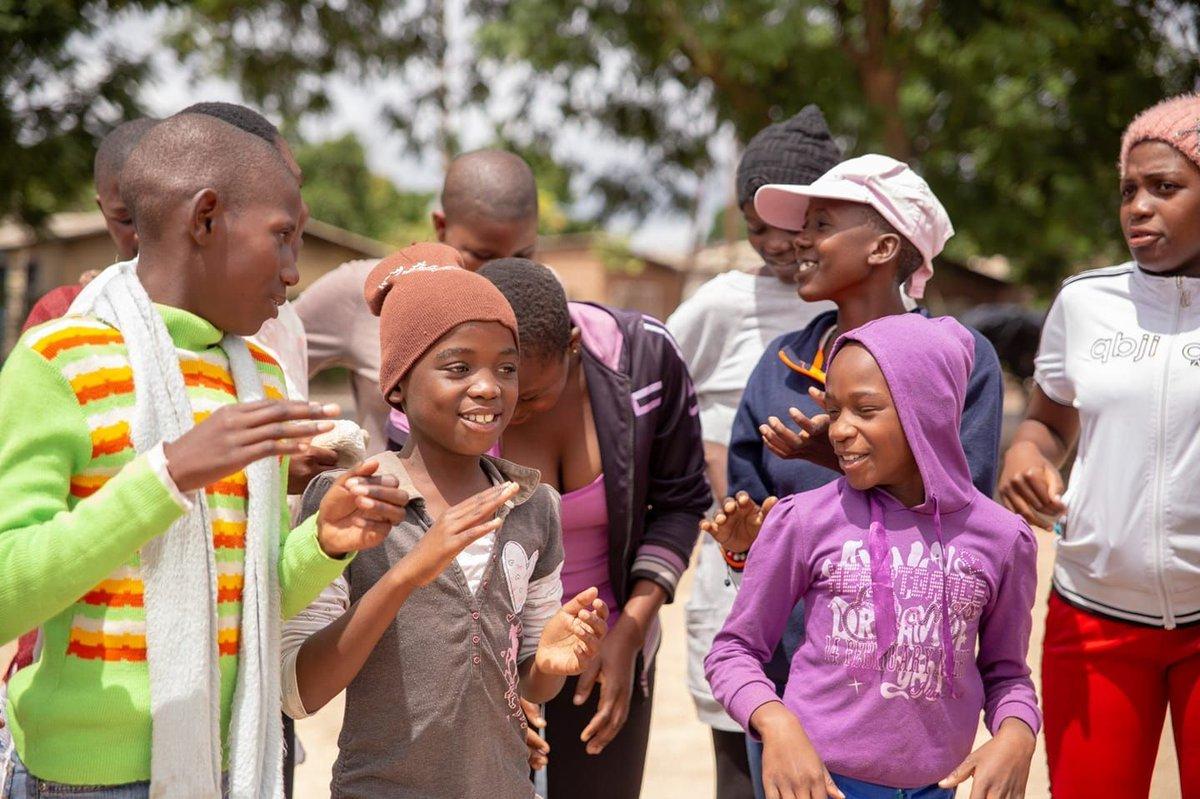 @TrinityProject4 @DFID_UK  #Genderequalty #WomenSupportingWomen #KidsClub #Zimbabwe #DFID #UKAid #ChildRights #Education