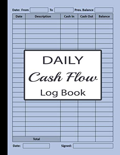 No matter the reason, there are several ways for accomplishing this. Download Free Pdf Daily Cash Flow Log Book Petty Cash Large Ledger Book Large Daily Cash Book And Financial Record Journal Financial Record Keeping N