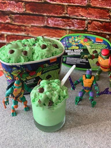 Rise Of The Teenage Mutant Ninja Turtles Ice Cream : teenage, mutant, ninja, turtles, cream, Tessa, 💜♡🖤, Twitter:,