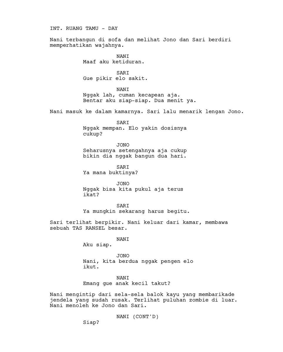 Contoh Script Film : contoh, script, Anwar, Twitter:, Lihat, Contoh, Potongan, Skenario, Ini:…
