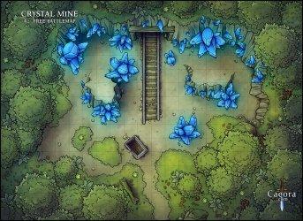 Dark Forest Battle Map 8