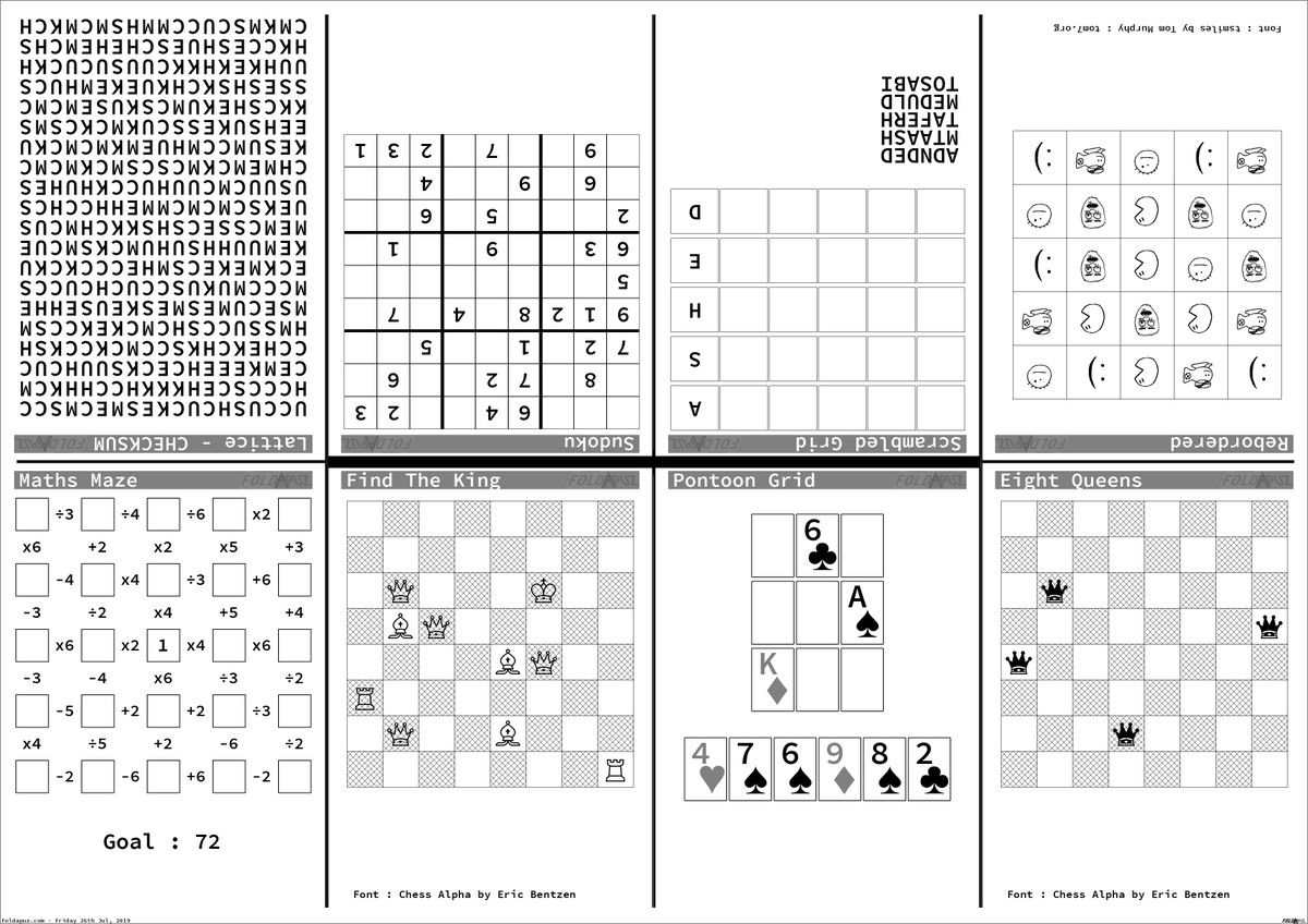 Printable Chess Puzzles That Are Astounding
