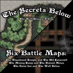 Roll20 Forest Battle Map