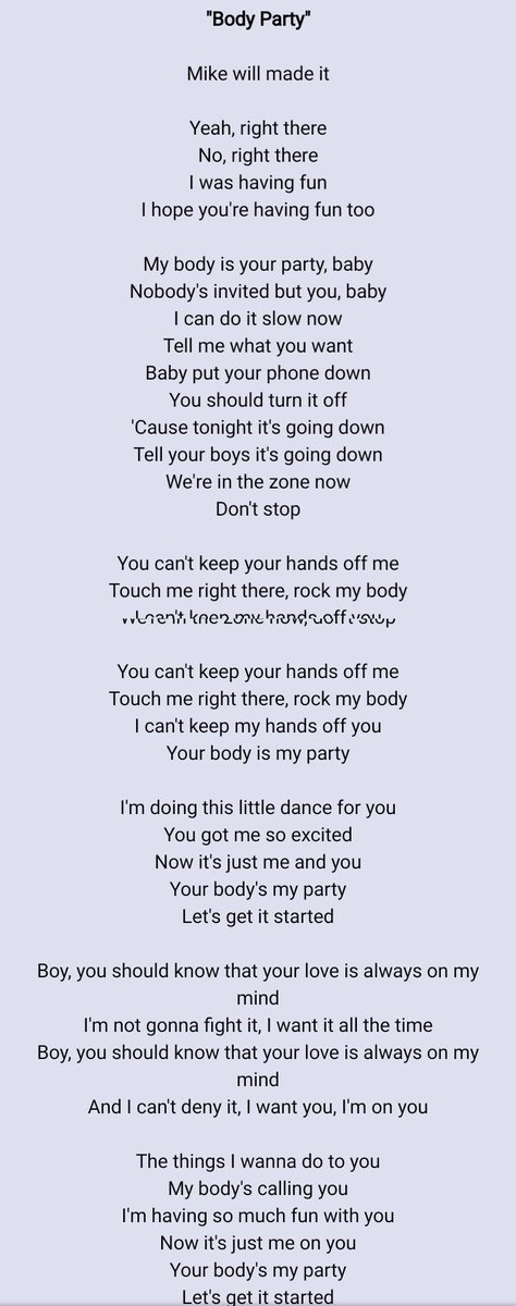 Put Your Hands On My Body Lyrics : hands, lyrics, Twitteren:,