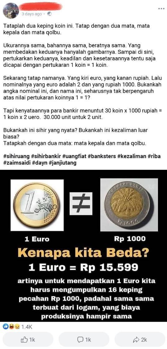 1 Euro Berapa Rupiah : berapa, rupiah, Rupiah