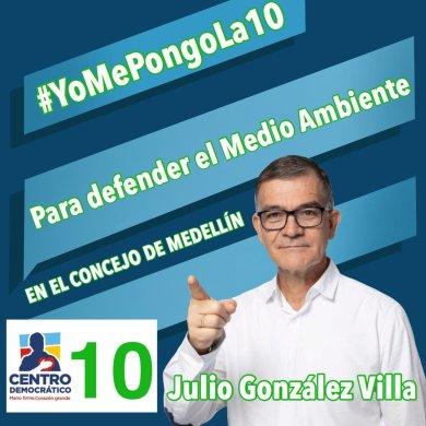 Resultado de imagen para Julio Enrique González Villa 10 Centro Democrático