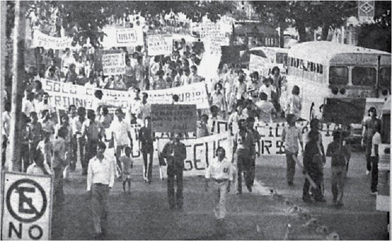 Comunidad universitaria reclama verdad y exige justicia por masacre del 30 de julio de 1975