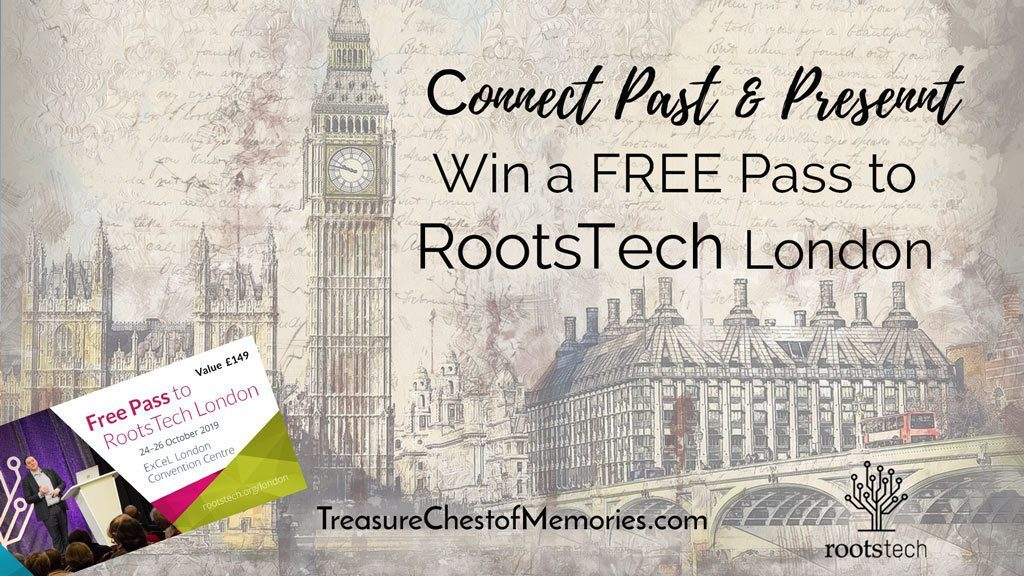 Super excited about RootsTech in London. Would love to win a pass!