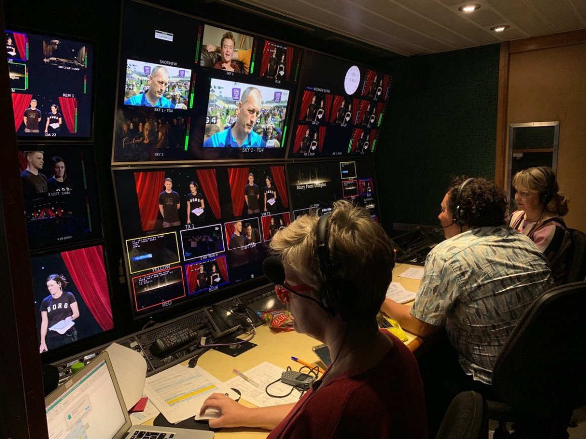 test Twitter Media - Beo ar TG4 later with  #MFD52 and the team were able to keep an eye on GAA Beo earlier during rehearsals https://t.co/y4Wdf08Oln