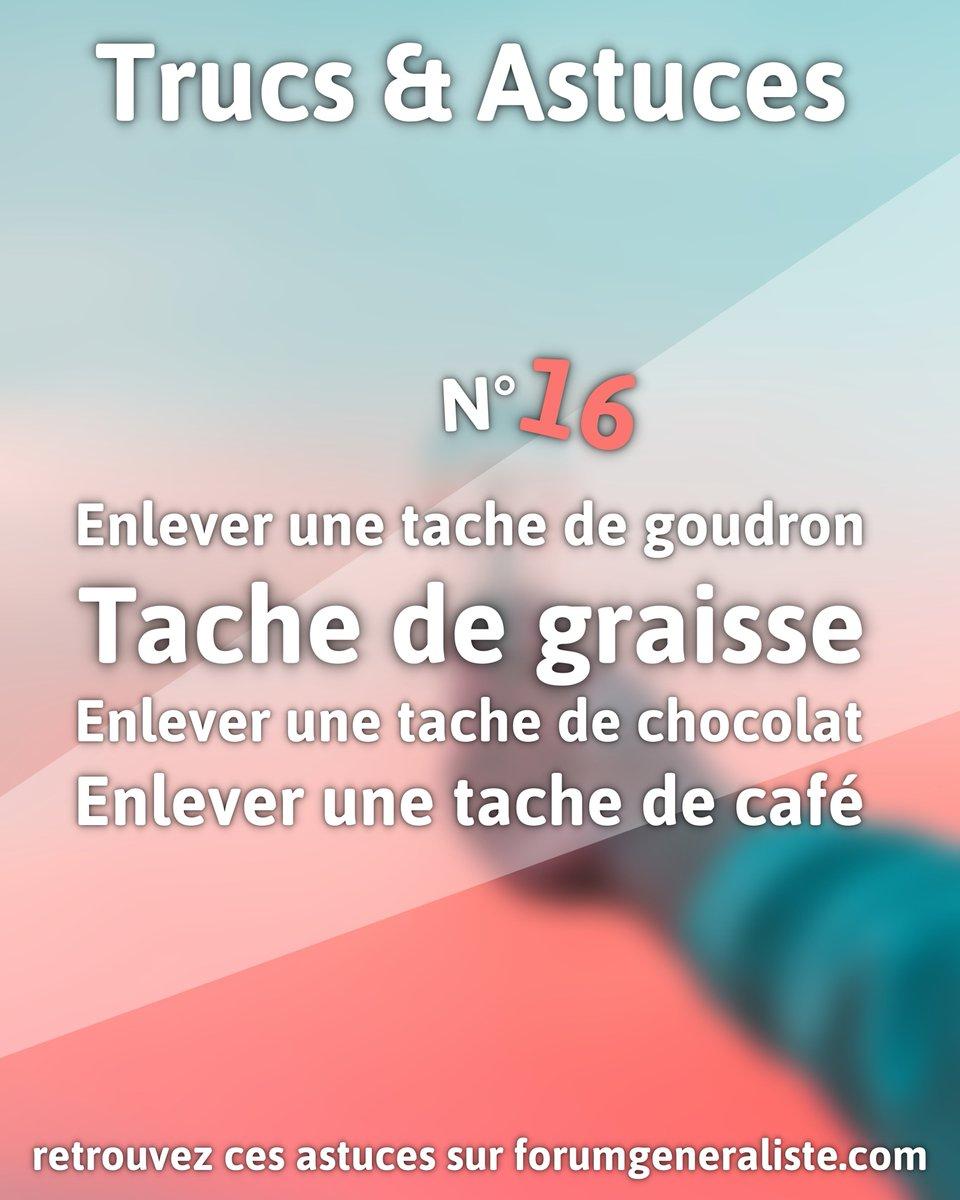 Enlever Une Tache De Gras : enlever, tache, Graissé, Hashtag, Twitter