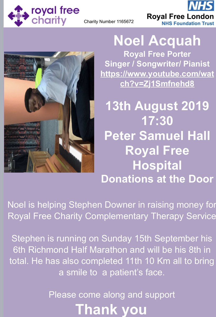 royal free charity royalfreechty
