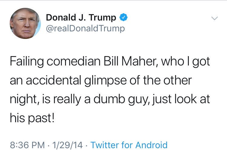 maher hashtag on twitter