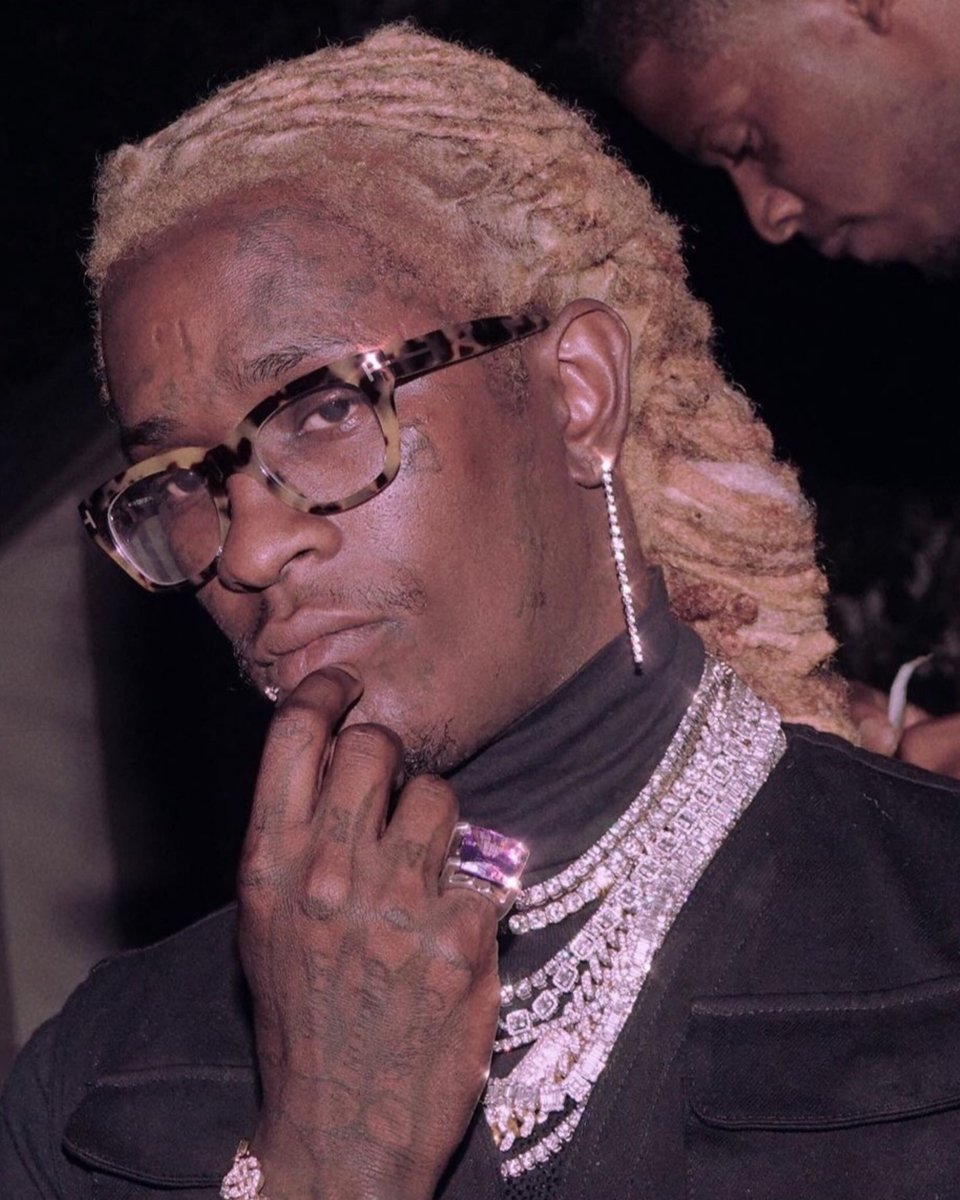 Young Thug Blonde Hair : young, blonde, YOUNG, STONER, RECORDS, Twitter:, @YoungThug, Blonde, Again., Album, #SoMuchFun, 💚…