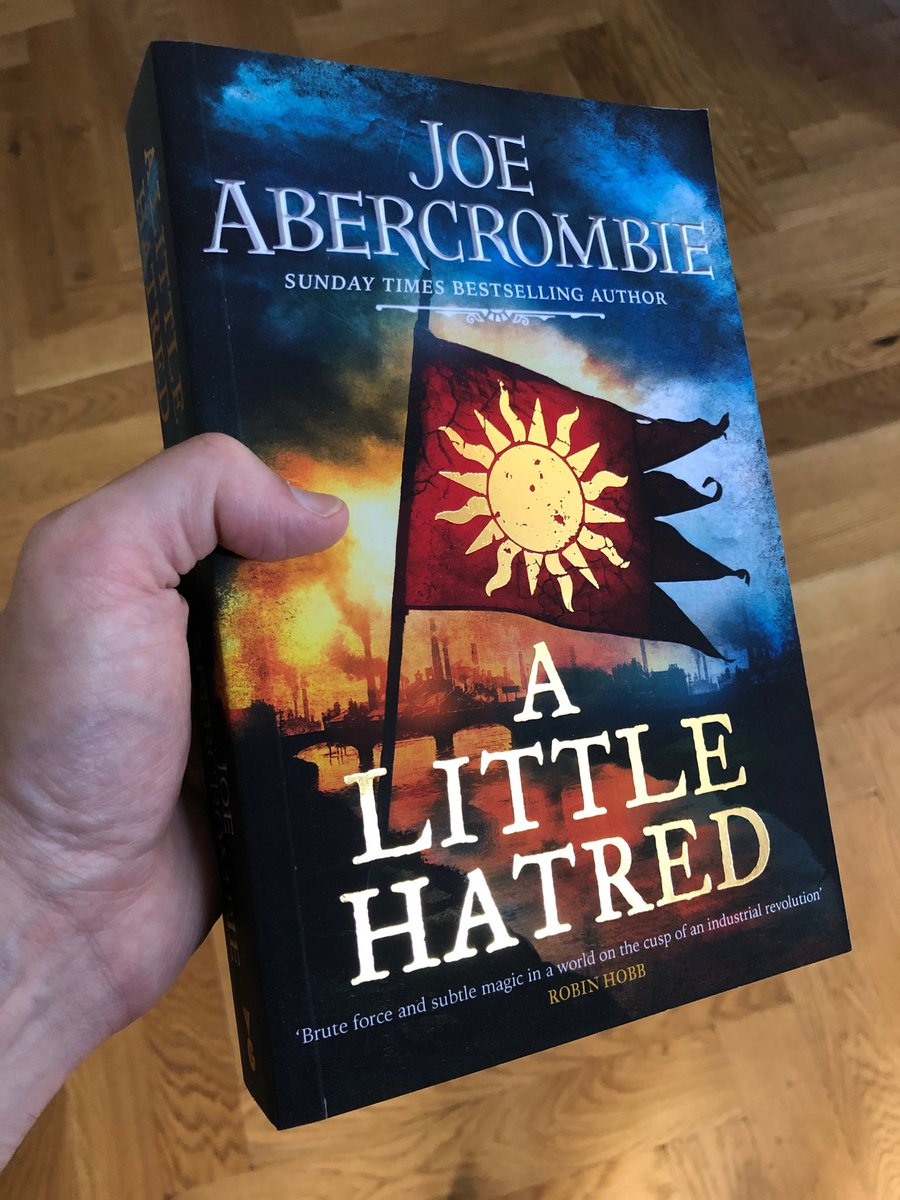 Joe Abercrombie A Little Hatred : abercrombie, little, hatred, Abercrombie, Twitter:, Lords, Ladies,, @gollancz, Trade, Paperback, Edition, Little, Hatred...…