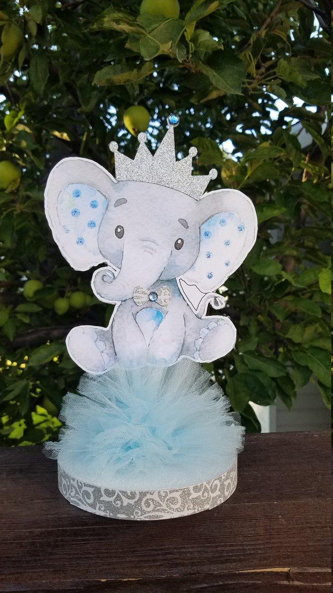 Elephant Centerpieces : elephant, centerpieces, Yulianna, Twitter:,