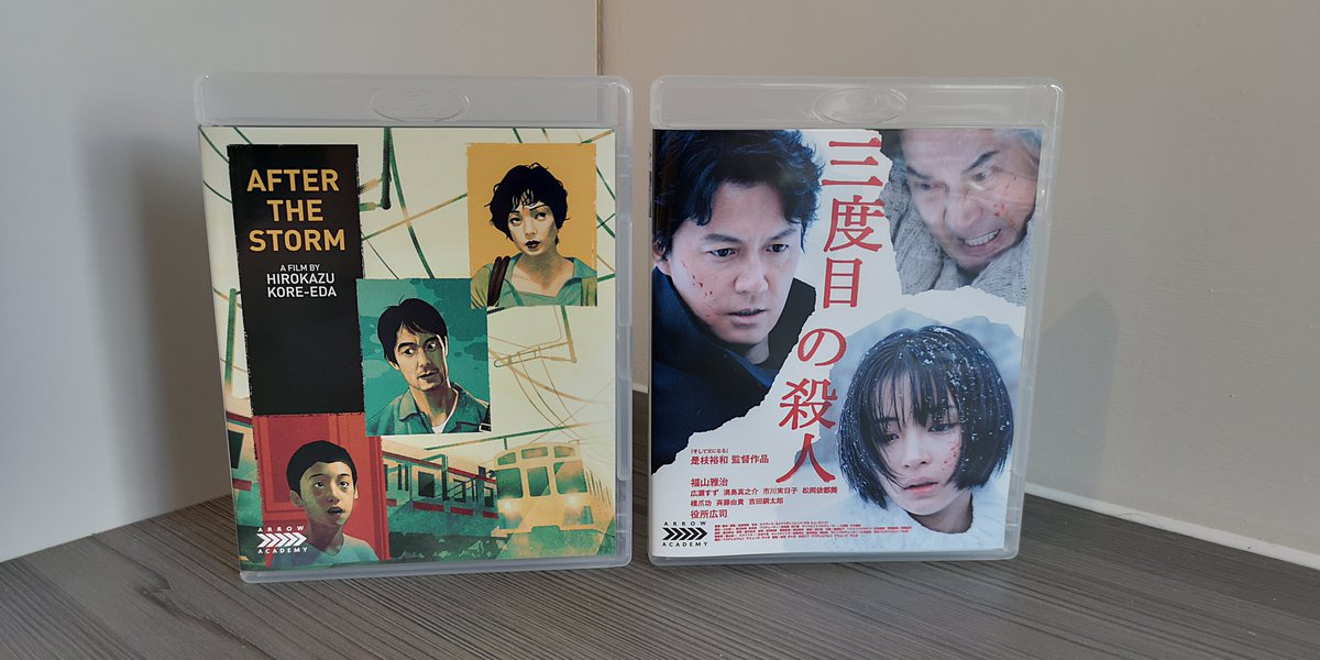 test ツイッターメディア - In addition to Dragon Ball Super: Broly, I also picked up two more Japanese live-action films as part of Arrow Academy & HMV's BOGOF sale.  After the Storm (海よりもまだ深く) and The Third Murder (三度目の殺人), both are directed by Hirokazu Kore-eda. https://t.co/3GLeWBm78k
