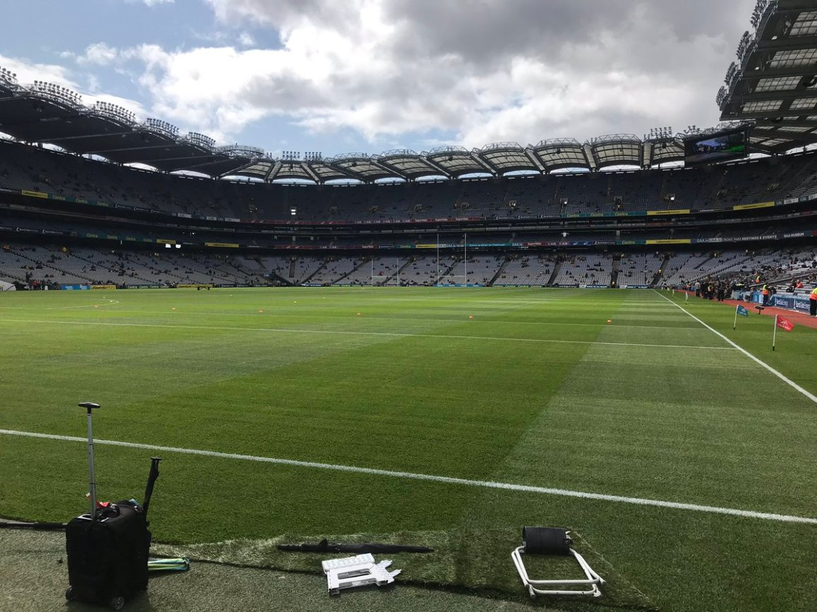 test Twitter Media - It's the all-Ireland Hurling Final day here in Croke Park, watch us live on RTE https://t.co/RyfLVH4vnY