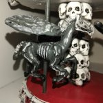 𝓧𝓪𝓶𝓸𝓻𝓪𝓱 On Twitter I M Ecstatic That I Found Another Skeleton Horse Carousel To Go Along With The One That I Bought Last Year The Angel Bat And Raven Winged Pegasi