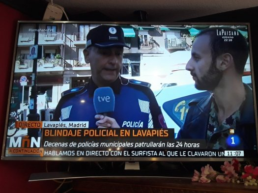 test Twitter Media - Televisión Española colaborando en la criminalización del barrio Lavapiés y en sacarle lo colores a Barcelona.   Si hubieran hecho un blindaje policial en la sede del PP de la calle Génova tendríamos más recursos públicos. https://t.co/Y9JMmVN6qF
