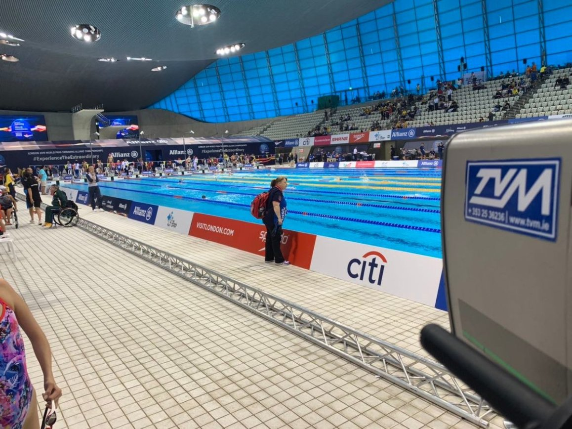 test Twitter Media - London 2019 World Para-Swimming Championships - TVM are delighted to be host broadcaster 9th - 15th September! #London2019 #ExperiencetheExtraordinary #ParaSwimming #TVM #OutsideBroadcasting https://t.co/DqQBGifDzl
