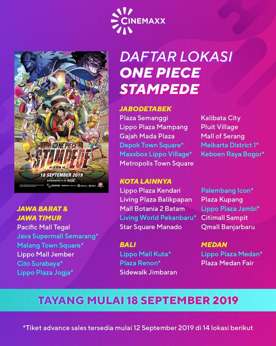 Jadwal Film Di Metropolis : jadwal, metropolis, Jadwal, Cinemaxx, Kalibata
