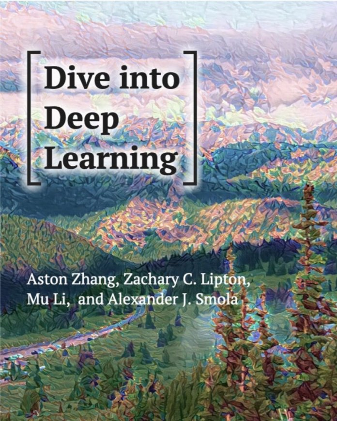 """test Twitter Media - """"Dive into Deep Learning"""" — An interactive #DeepLearning book with code, math, and discussions: https://t.co/JBCkquGILe  ————— #BigData #DataScience #DataScientists #Coding #AI #MachineLearning #Mathematics #Algorithms #NeuralNetworks https://t.co/BACNsif2ug"""