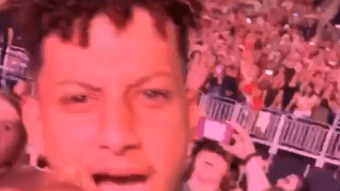 Patrick Mahomes Couldn't Stop Smiling At Jonas Brothers Concert With Girlfriend Brittany Matthews