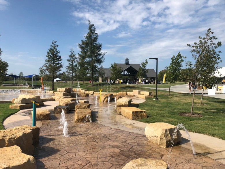 """city of plano on twitter: """"it's here! today we officially opened windhaven  meadows park. it includes the universally-accessible liberty playground, a splash  pad, 5-acre dog park, trails and more.… https://t.co/tq18a7ytbk"""""""