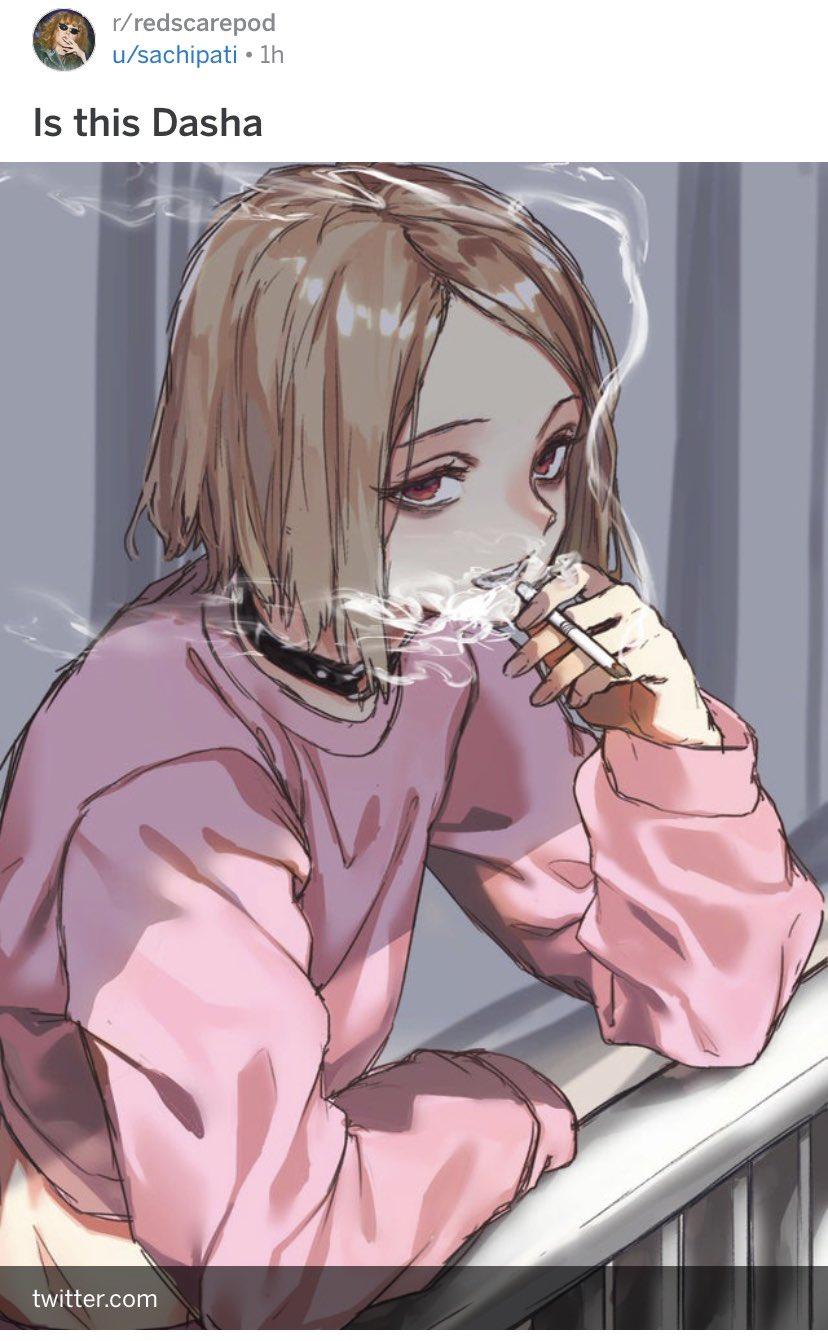 Anime Girl Tired : anime, tired, Dasha, Twitter:,
