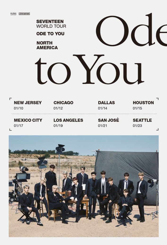 Image result for SEVENTEEN usa tour ode